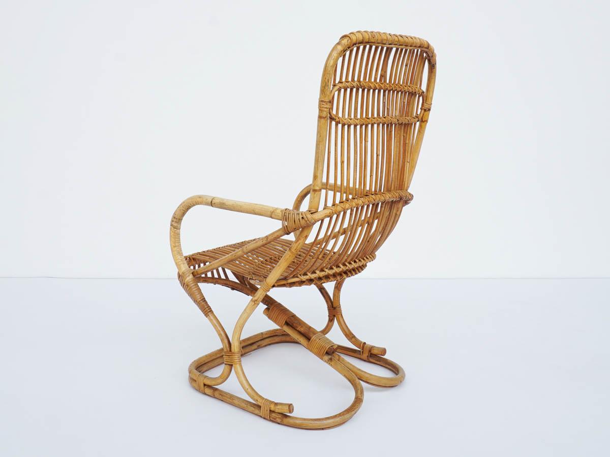 Fauteuil Lounge en Bambou