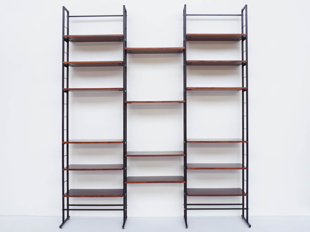 Freestanding Bookcase Divisible in 2 Single Spans
