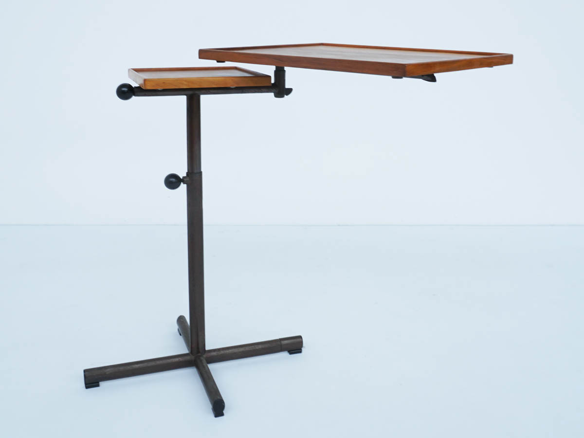 Fully Adjustable Side Table mod. Caruelle