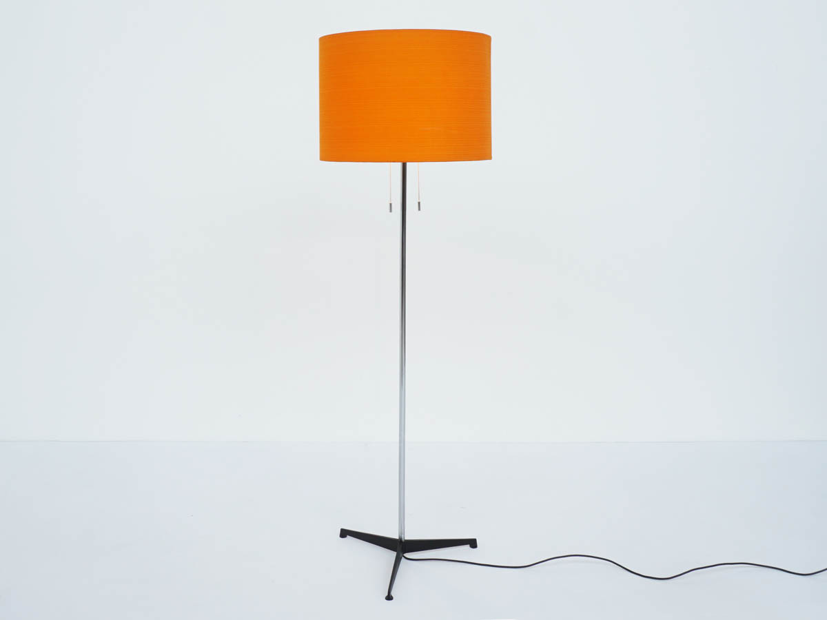 1960 Swiss Stand Lamp with Double Lighting